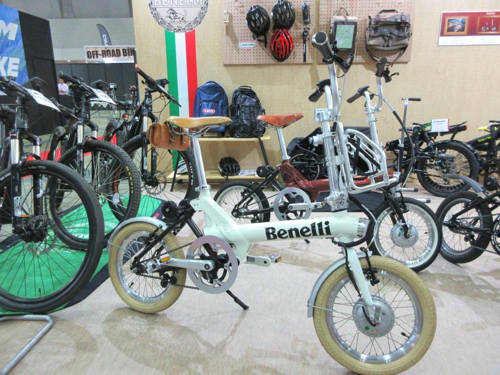 ちいさな自転車家 BENELLI miniFold16 Classic 電動アシスト付自転車