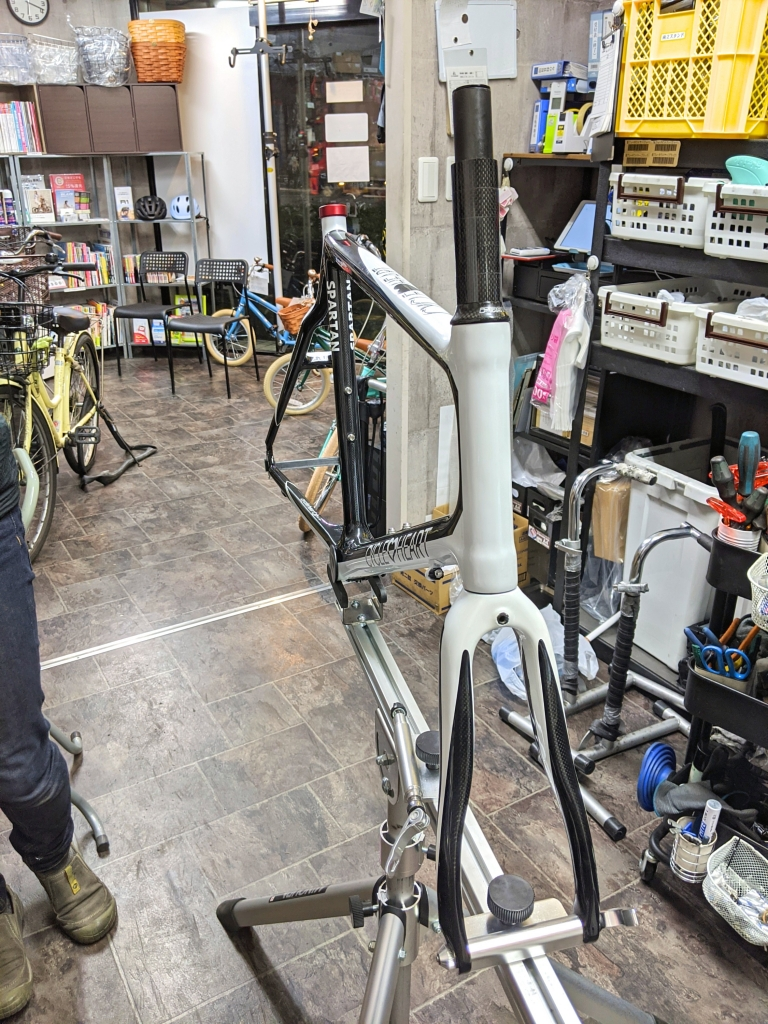 ちいさな自転車家 サイクルハート ミニベロ カーボン