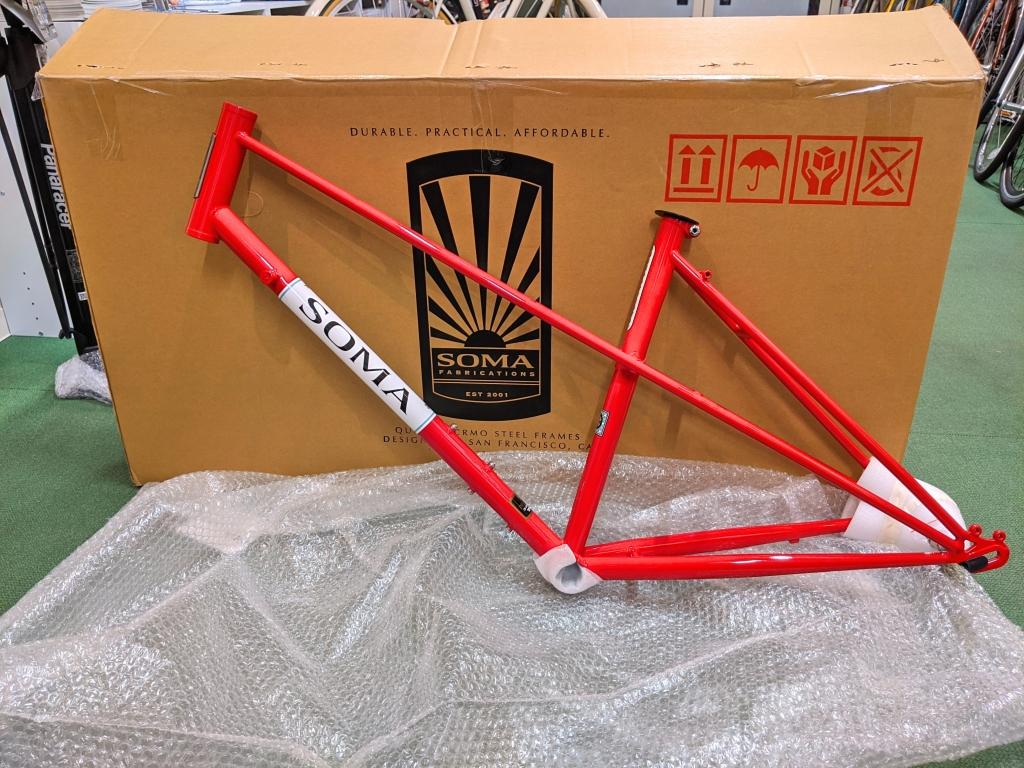 ちいさな自転車家 SOMA ブエナビスタ ミキスト クロモリ