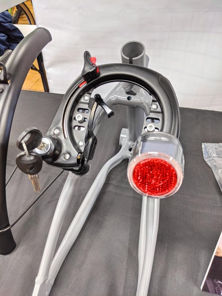 ちいさな自転車家 パーツ アクセサリー カギ Vブレーキ用 CROPS