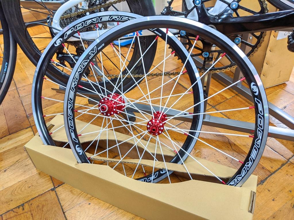 ちいさな自転車家 ホイール ESR ミニベロ