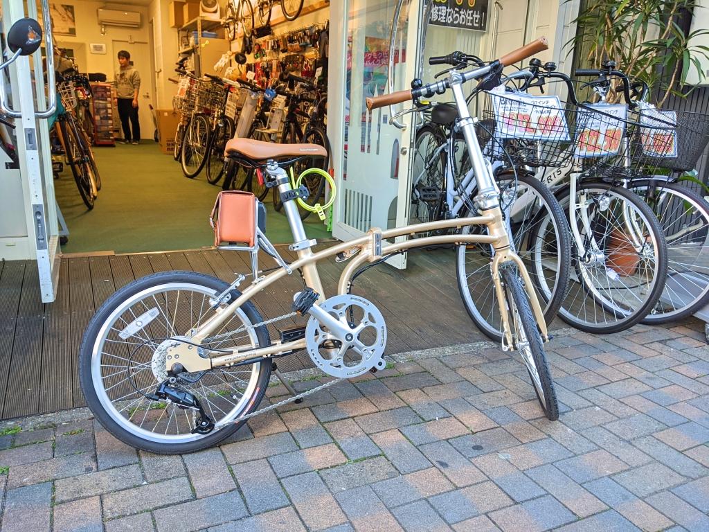 ちいさな自転車家 栄店 デイトナ DE01 電動アシスト付自転車