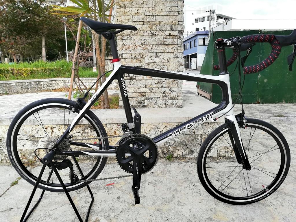 ちいさな自転車家 沖縄 サイクルハート ミニベロ カーボン