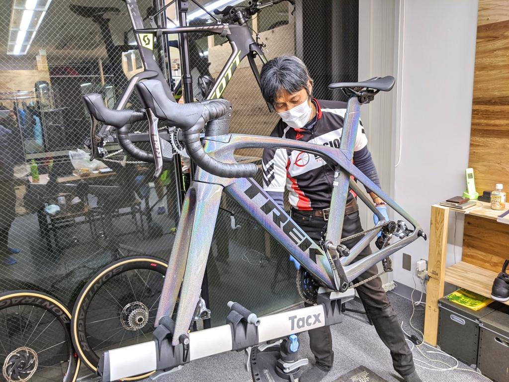 ちいさな自転車家 栄店 ハドラスコーティング Personal & Cycle Studio i