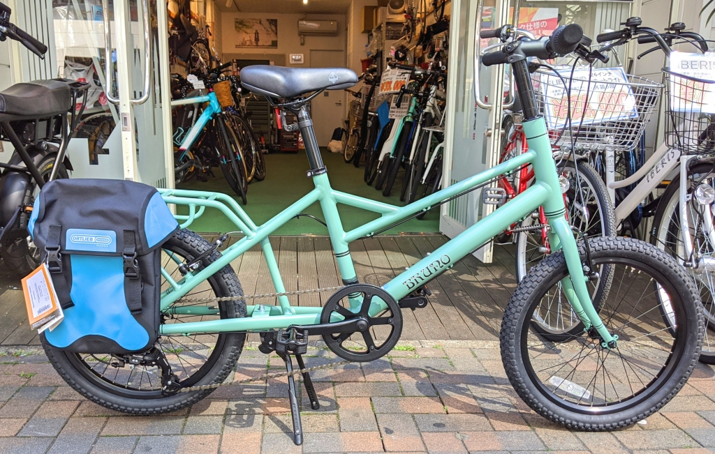 ちいさな自転車家  MINIVELO TOOL BRUNO ミニベロ 小径車
