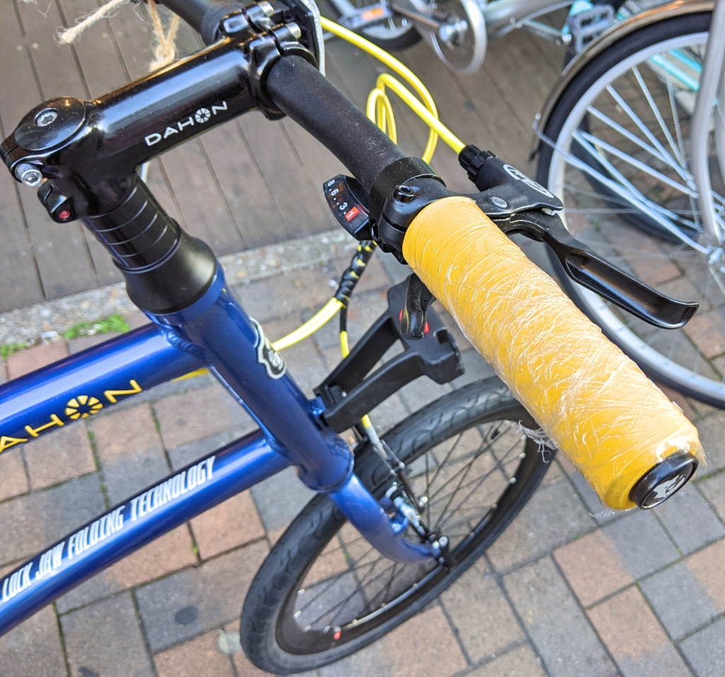ちいさな自転車家  Dash P8 DAHON ミニベロ 小径車