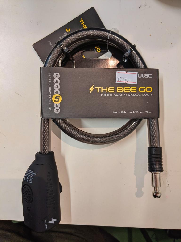 ちいさな自転車家 栄店 ULAC THE BEE GO アラームロック