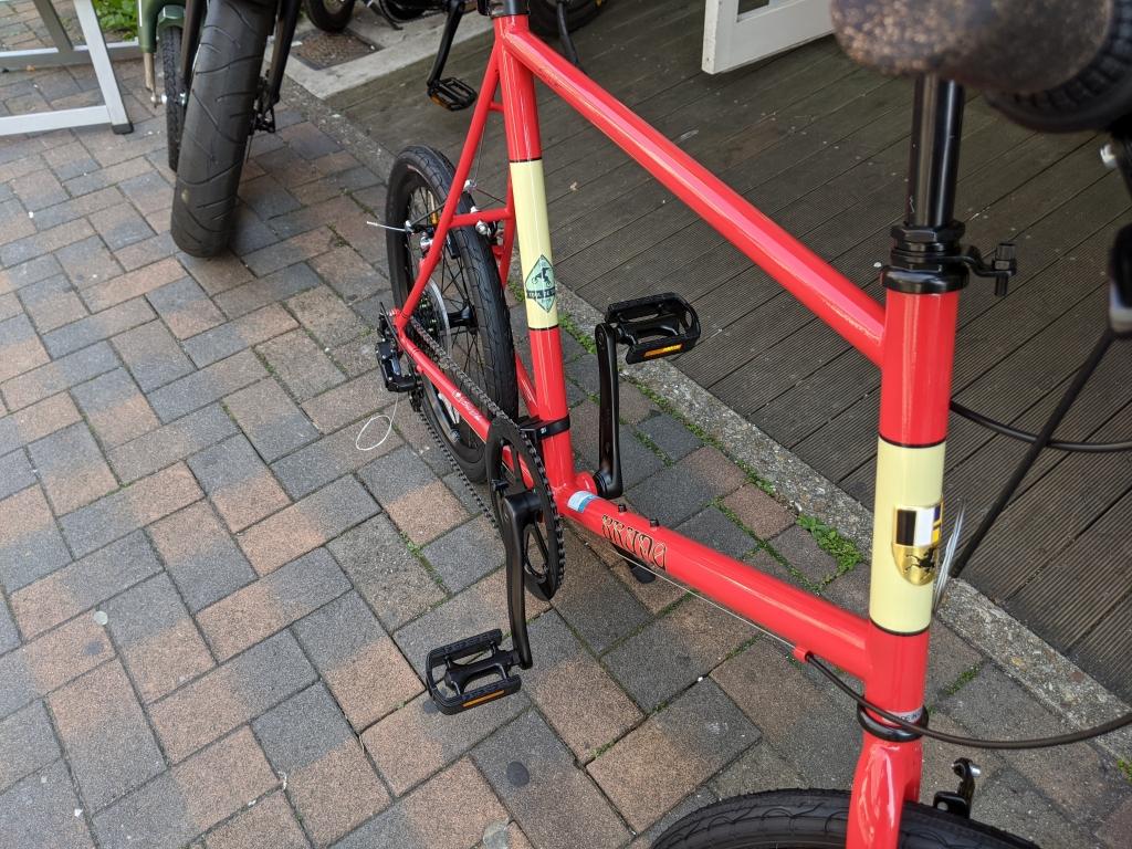 ちいさな自転車家 ハドラスガラスコーティング BRUNO