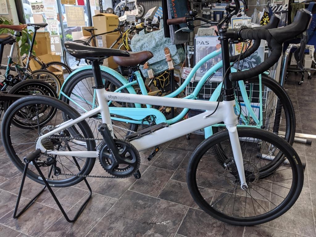 ちいさな自転車家 stijncycles Peg ミニベロ