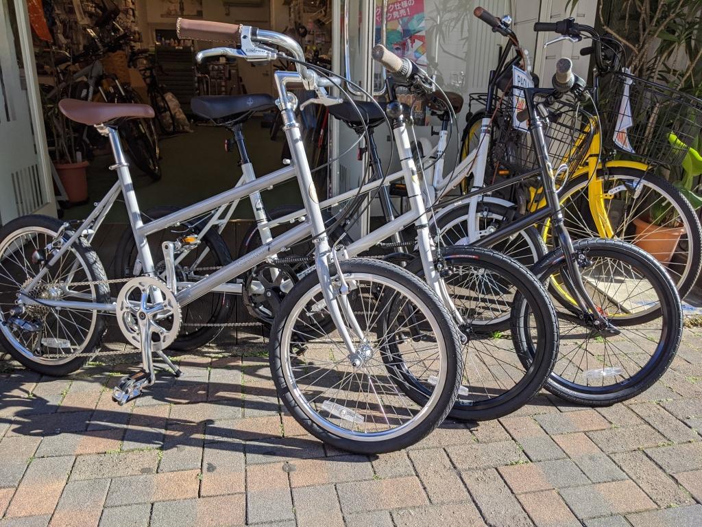 ちいさな自転車家  栄店 BRUNO GROWN ミニベロ 小径車