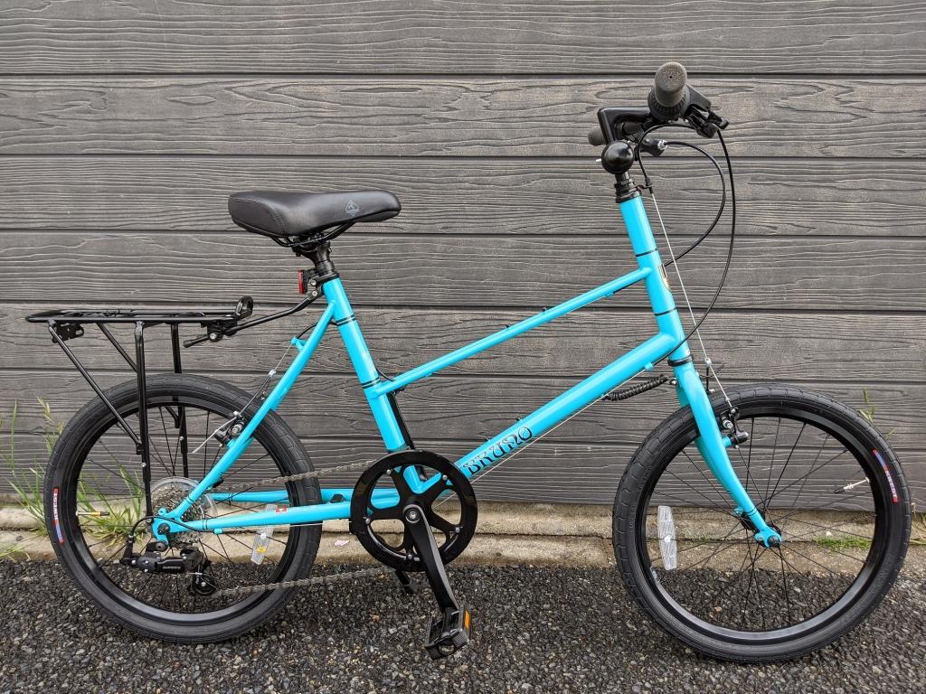 ちいさな自転車家 BRUNO MIXTE ミニベロ 小径車
