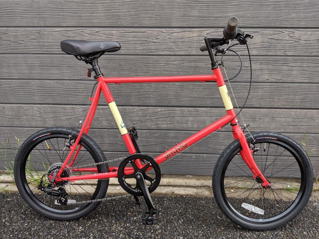 ちいさな自転車家 BRUNO SKIPPER ミニベロ 小径車