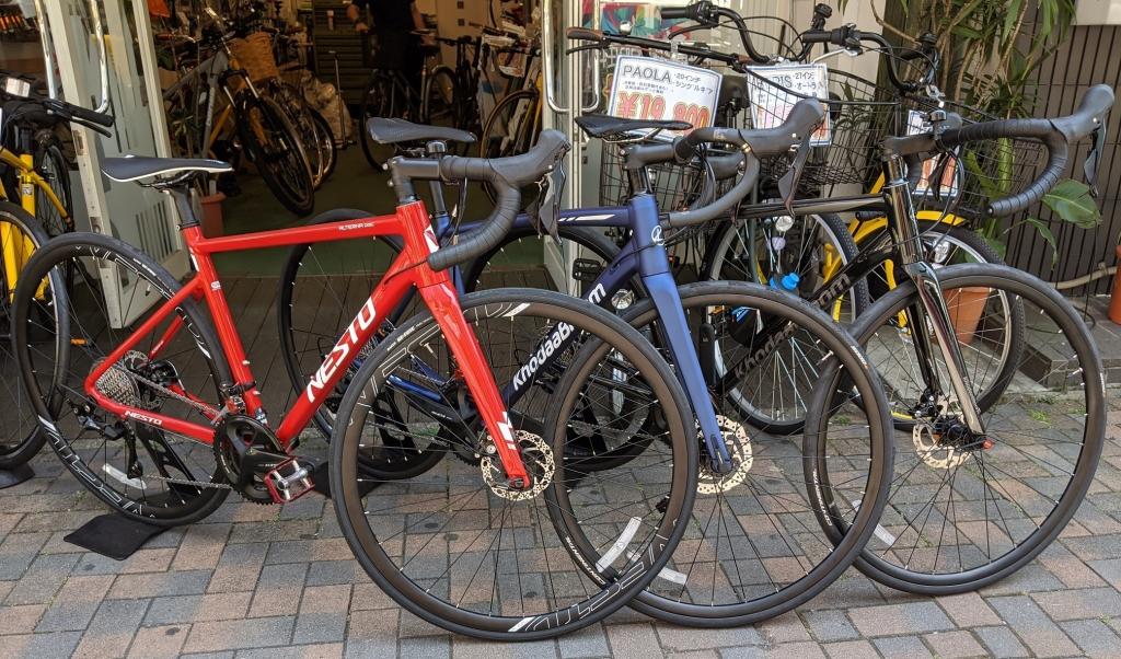 ちいさな自転車家 KhodaaBloom NESTO ロードバイク DISC