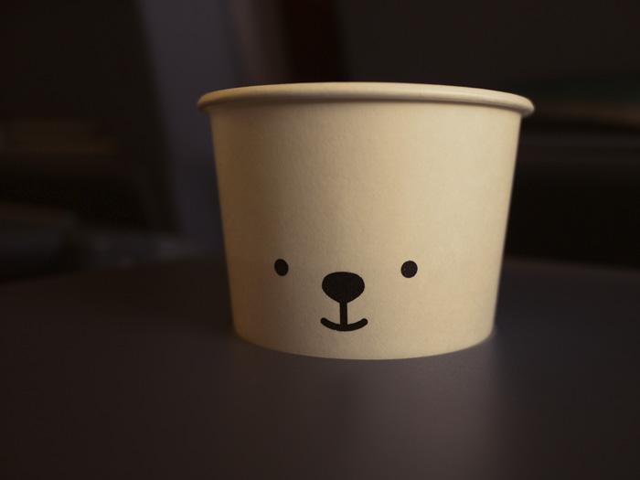 クマさんカップ