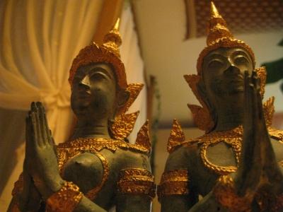 タイ仏像2体