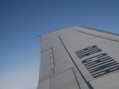 飛行機景色