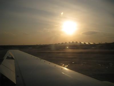 飛行機風景1