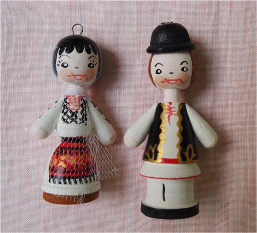 ルーマニアのマスコット人形