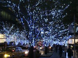 六本木けやき坂のクリスマス・イルミネーション2007/11/10
