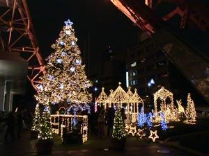 東京タワーのクリスマス・イルミネーション2007/11/10
