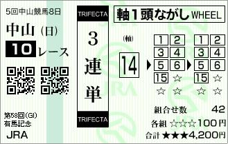 20131222_有馬記念(購入時)