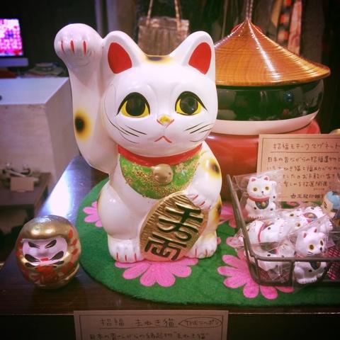 招き猫 貯金箱