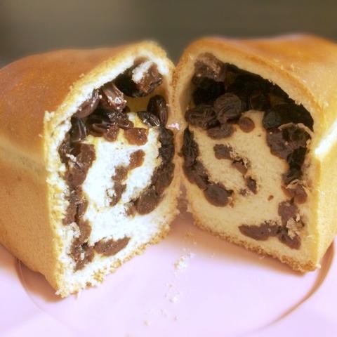 舞い鶴 ぶどうパン