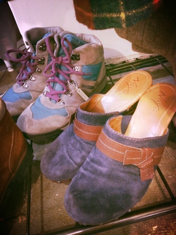 王冠印雑貨店 古着 靴