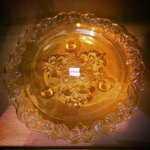 王冠印雑貨店 東洋ガラス コンポート皿