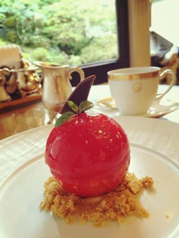 富士屋ホテル りんごケーキ