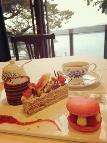 山のホテル ロザージュ ケーキ