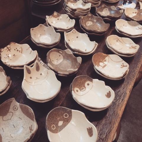 つぐみ製陶所 豆皿