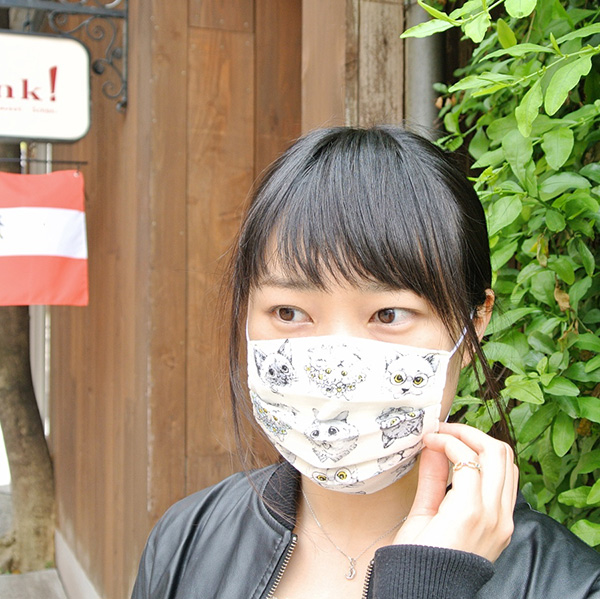 猫 マスク