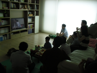 カンさんビデオ上映