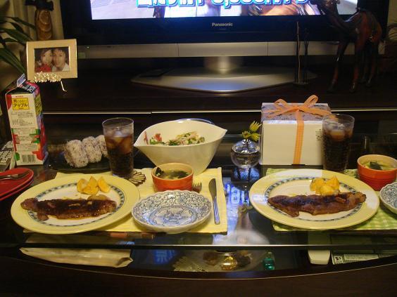 お誕生日会のお料理