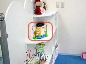 小児科導入の木のおもちゃ おさるのアイランド(ワイヤートイ)