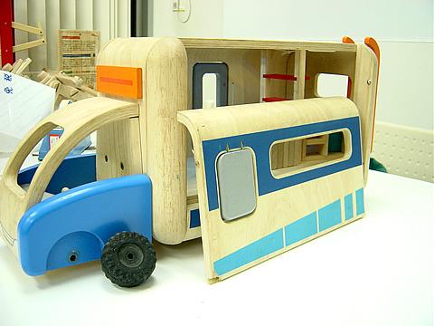 木のおもちゃ プラントイ モーターホーム