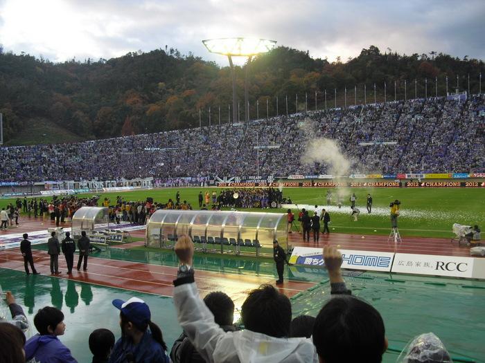 優勝サンフレッチェ201211