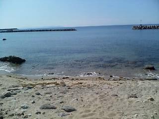日本海〜♪