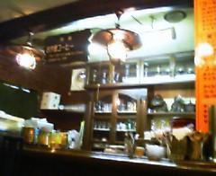 レトロな喫茶店。