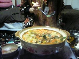 キムチ鍋やあ〜♪