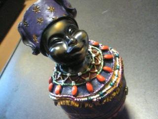 アフリカ(?)のおばちゃん。