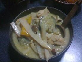 grenn curry