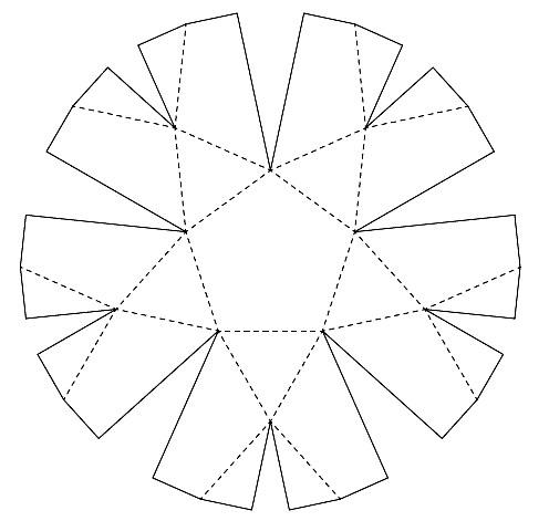 折紙式展開図