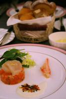 前菜/マグロとホタテのカルパッチョ