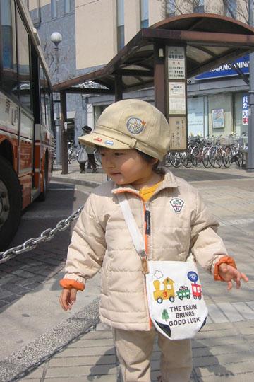 バス初体験♪