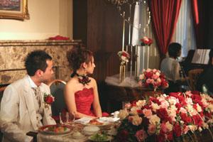 初結婚式出席!