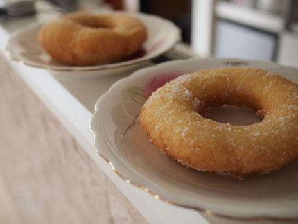 手作りドーナツ
