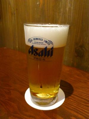 02生ビール満杯