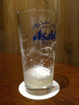 03生ビール空杯